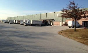 exterior of the Hanover PA Warehouse and Conestoga Tile distribution center